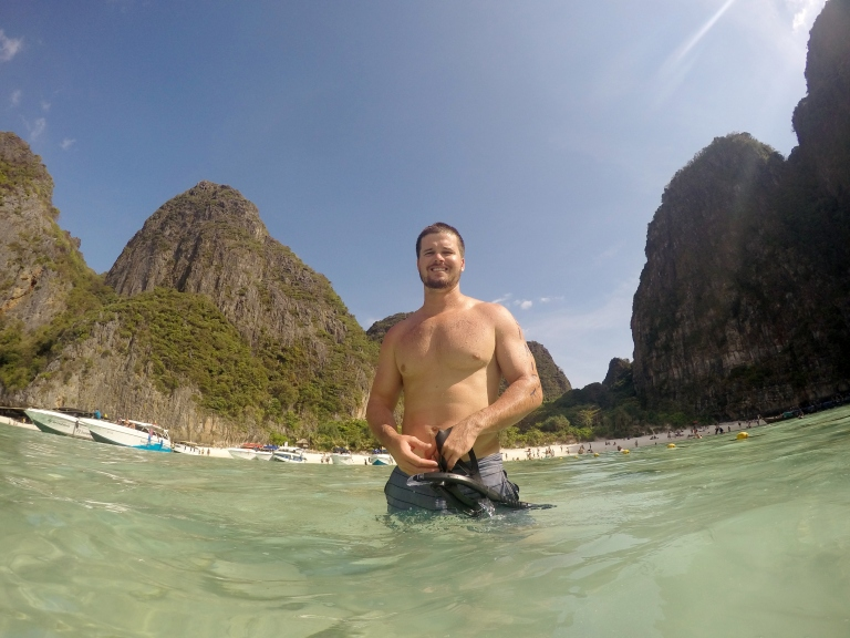 Blaise at Maya Beach