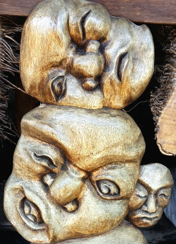 Wood Carvings in Bali, Indonesia